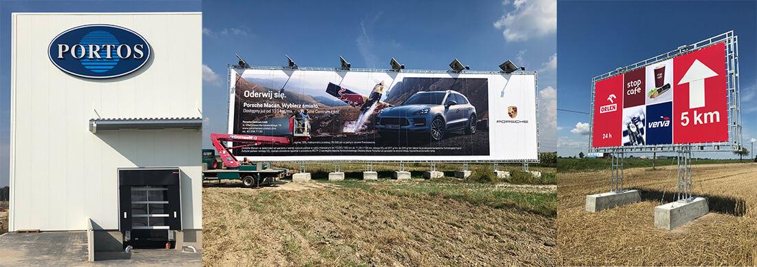 Konstrukcje wielkoformatowe, reklama wielkoformatowa, zewnętrzna Kalisz