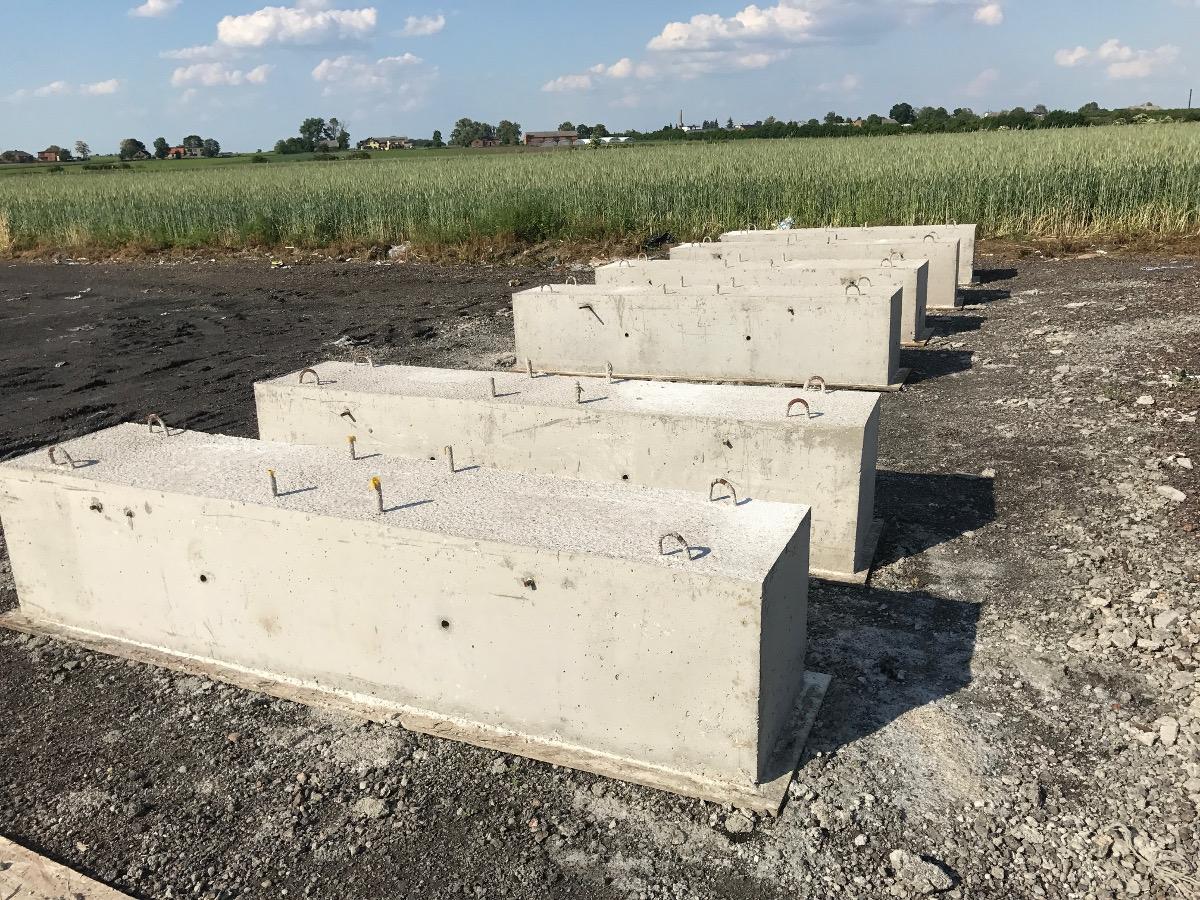 obciążenia betonowe