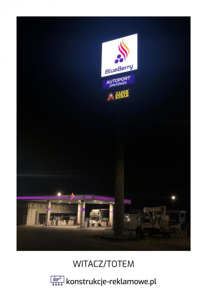 Witacz / Totem - konstrukcje-reklamowe.pl
