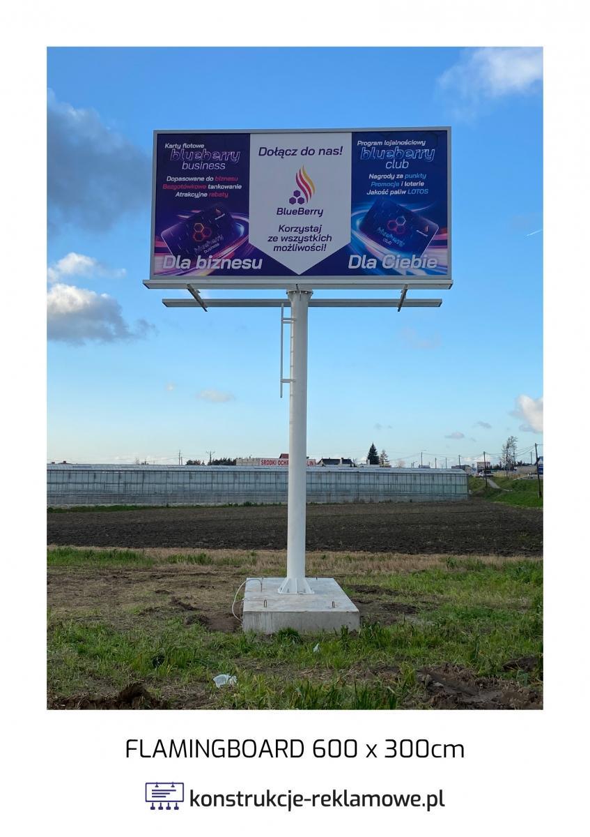 Flamingboard 600 x 300cm - konstrukcje-reklamowe.pl