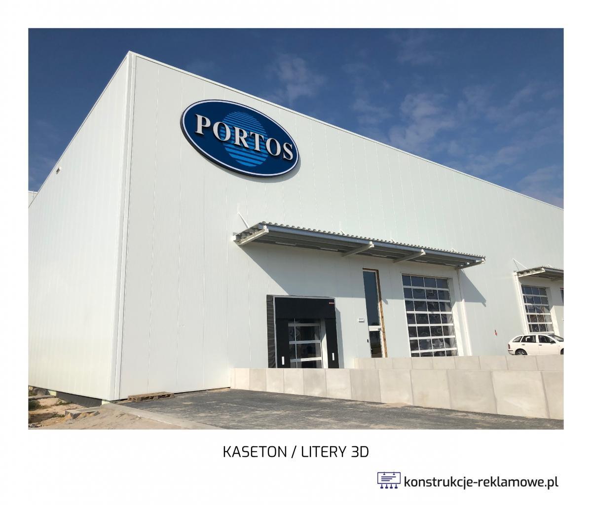 Kaseton / Litery 3D - konstrukcje-reklamowe.pl